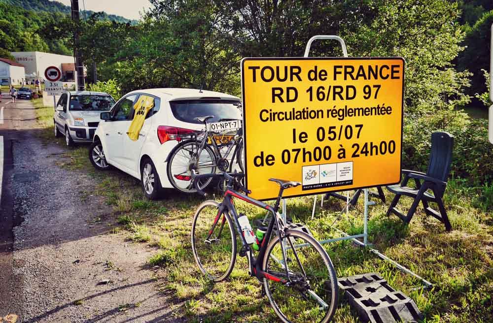 Die fünfte Etappe der Tour de France