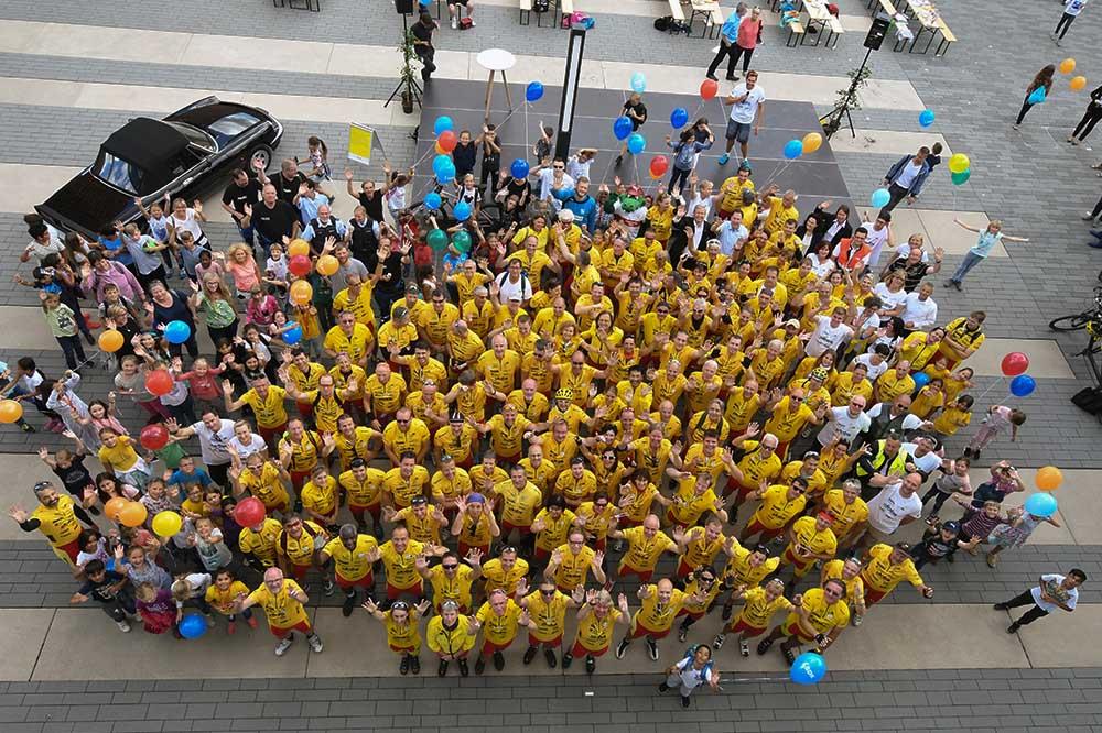 Gruppenfoto der Tour Ginkgo Teilnehmer