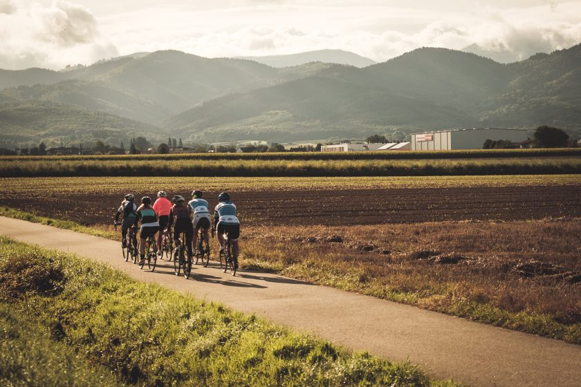 Fahrradtour beim Women's Cycling Camp