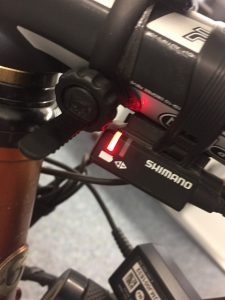 Rotes Licht der Di2
