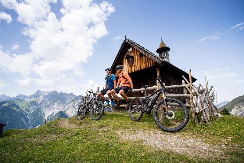 Mit dem E-Bike Berge erklimmen