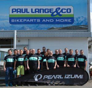 Gruppenbild des Teams Paul Lange fürs Stadtradeln