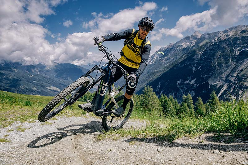 E-Mountainbike Stufen