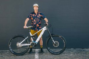 Guido Tschugg E-Mountainbike von Husquvarna