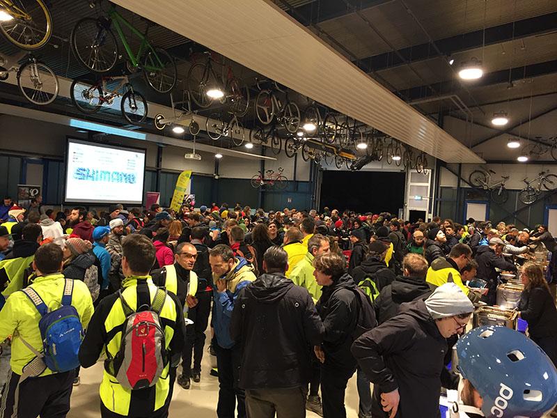 Critical Mass Stuttgart bei Paul Lange März 2019