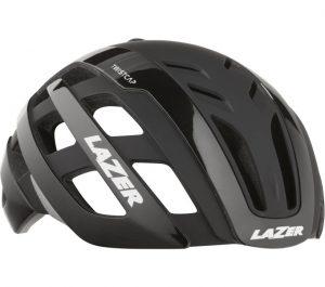 Schwarzer Fahrradhelm von Lazer