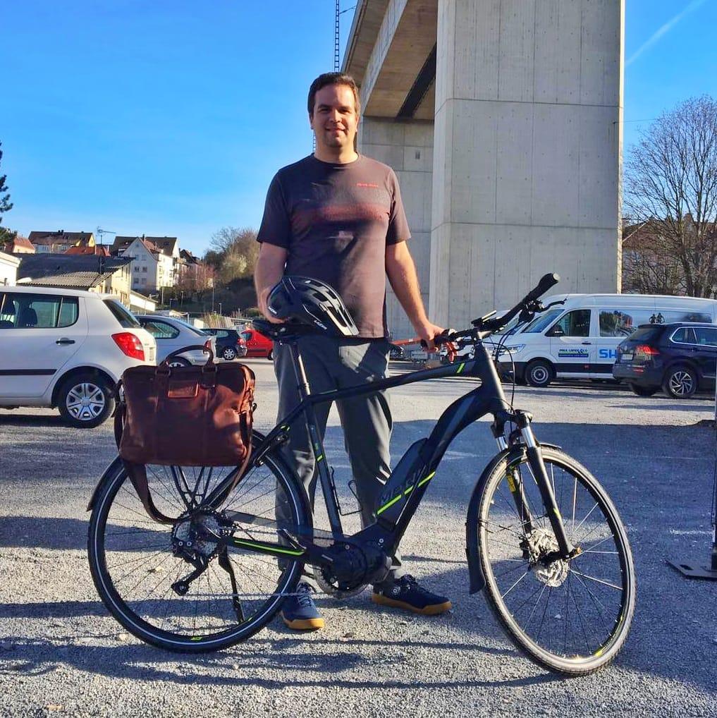 Mit dem E-Bike pendeln - Erfahrungsbericht