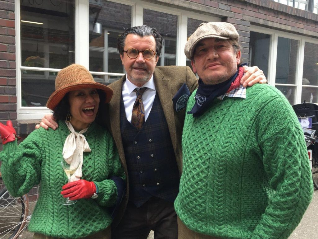 Tweed Run Stuttgart 2019 |  Konrad Weyhmann