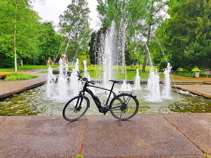 E-Bike-Fahren in Stuttgart