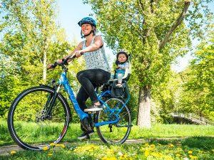 Fahrradreifen Luftdruck - Bobike Kindersitz