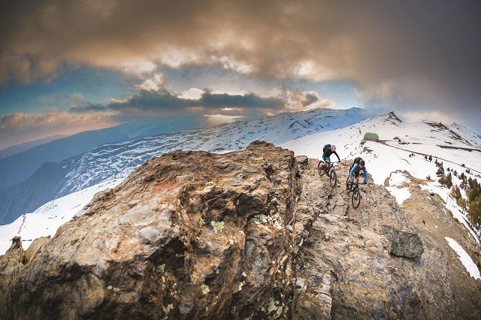 Mehrtägige Tour durch die Alpen mit dem Mountainbike