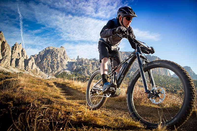 Luftdruck E-Mountainbike