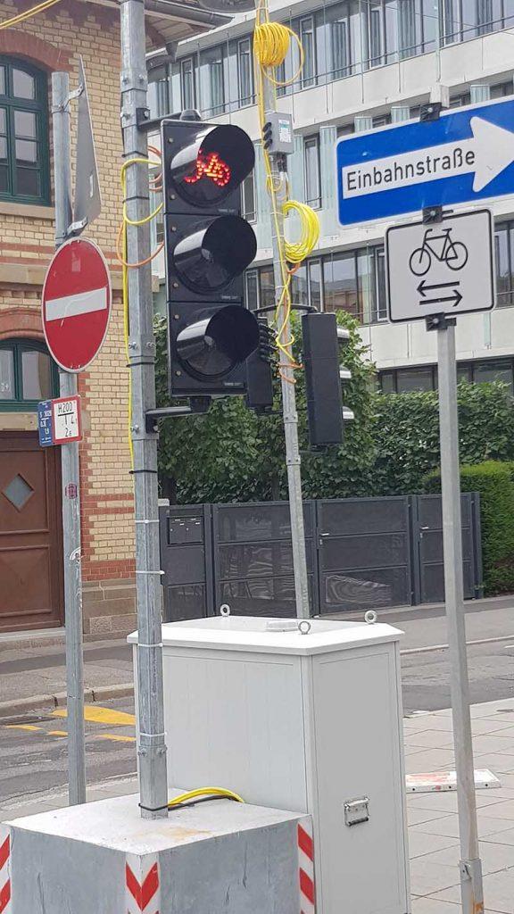 Fahrradstraße wird zur Umgehungsstraße - Noch mehr Stauzeit