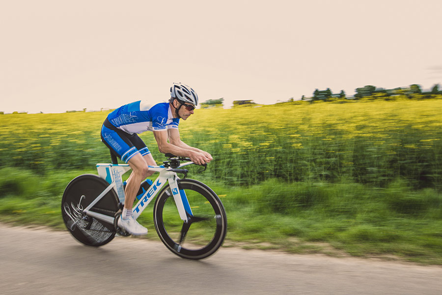 Andreas Niedrig auf dem Rennrad - Shimano - Paul Lange