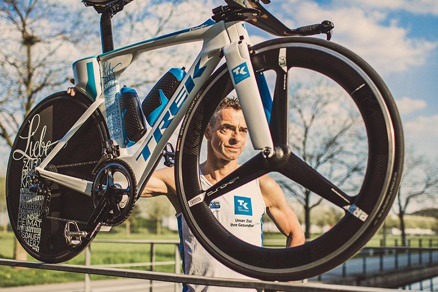 Andreas Niedrig - Rennrad mit Shimano-Komponenten hält gesund