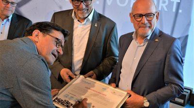 Konrad Weyhmann - Unterschrift - Förderkreis Fahrrad - Wirtschaft und Politik