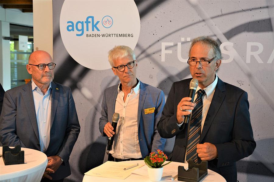 Verkehrsminister Winfried Hermann - Günter Riemer - AGFK