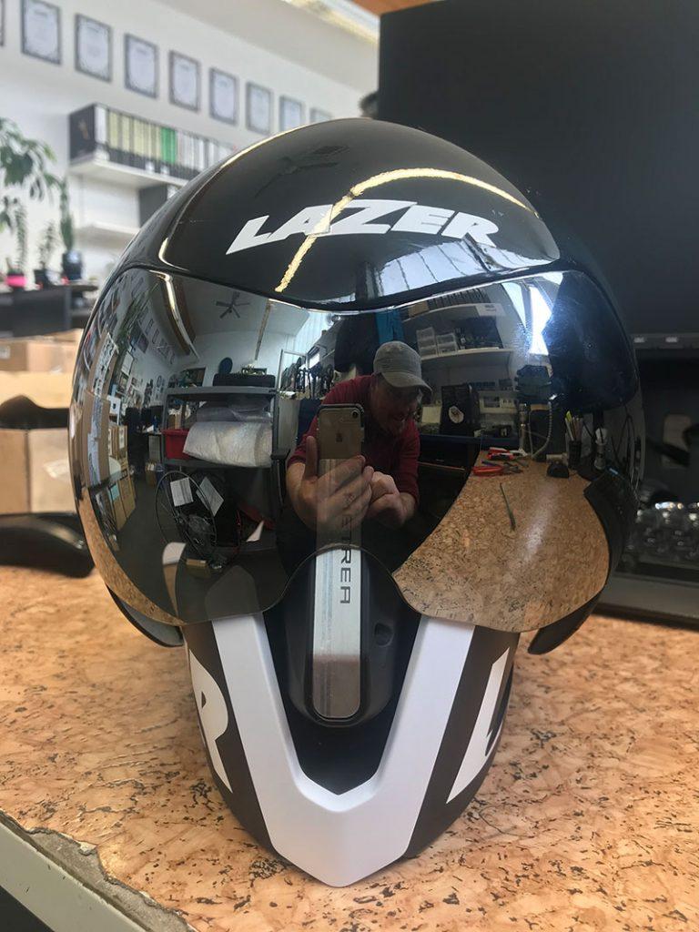 Lazer Wasp Air Fahrradhelm für die Fahrradkunst