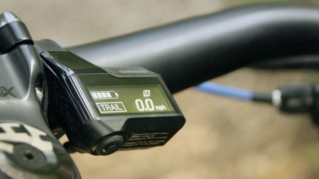 E-Bike Unterstützungsstufen - TRAIL-Modus