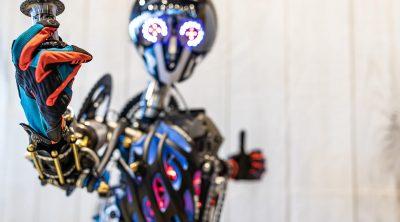 Transformer Roboter Fahrradkunst - Oliver Dürr