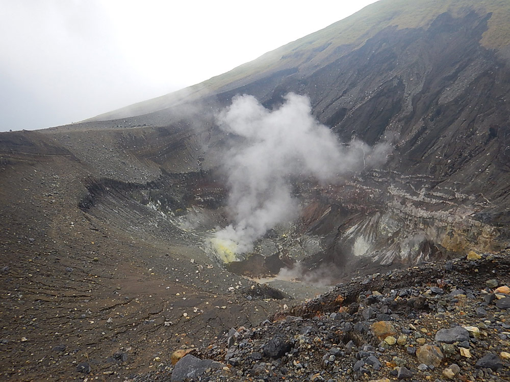 Vulkan in Sulawesi