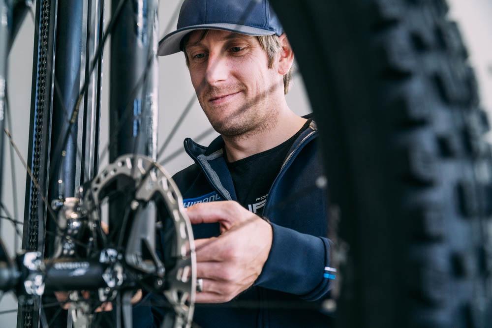 Andreas Weigold - Fahrradmechaniker bei  Saikls.