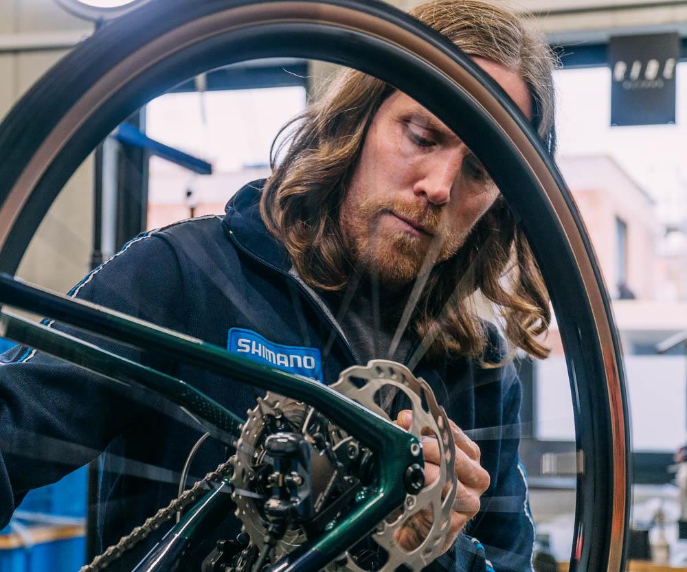 Ingo Lehmann - Fahrradmechaniker Keller Fahrräder.