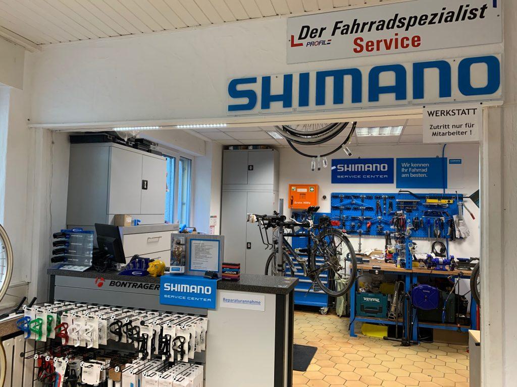 SHIMANO SERVICE CENTER Fahrradwerkstätten trotz des Corona-Virus geöffnet
