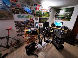 Indoor-Cycling mit Zwift - Frank Eggerts Paincave