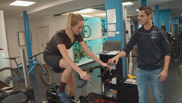 Nadine Berneis Bikefitting