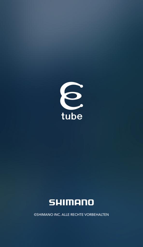 Start E-Tube Project App von SHIMANO