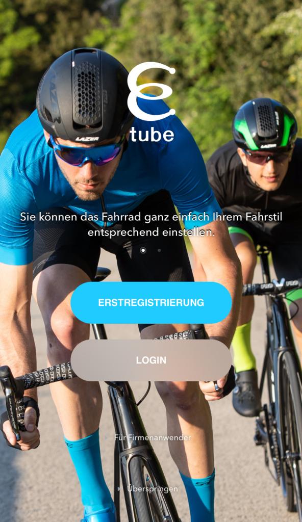 SHIMANO ID - Erstregistrierung mit der E-Tube Project App