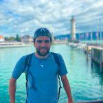 Jonas Deichmann - Deutschland-Triathlon in Lindau geschafft