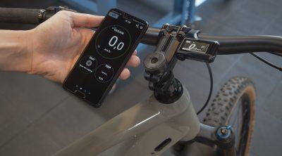 E-Tube-RIDE App am Bike, am Fahrrad