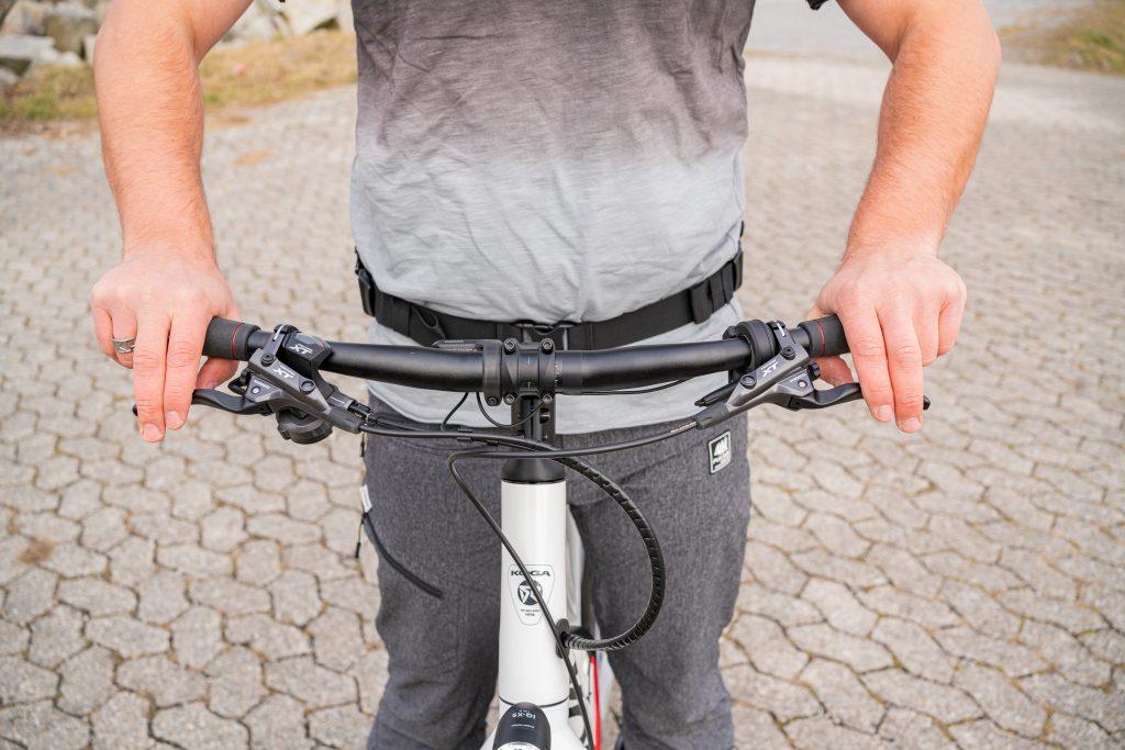 Position Bremshebel 3 - E-Bike-Fahrtechniktraining.