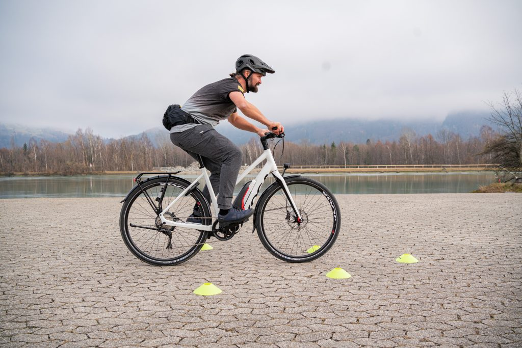 Bremsmanöver E-Bike-Fahrtechnik-Training 2.