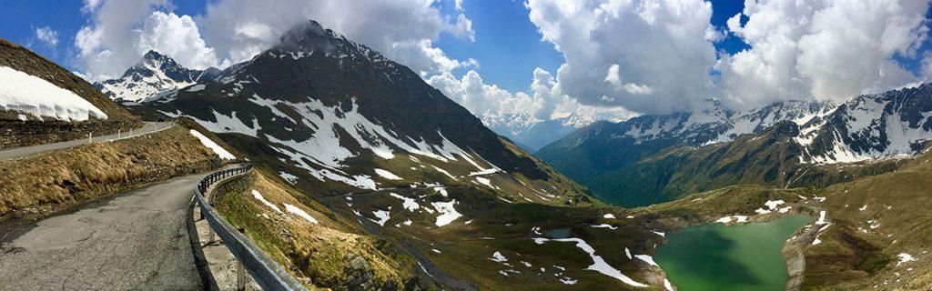 Berge & Serpentinen - Transalp - Winterwunderland.