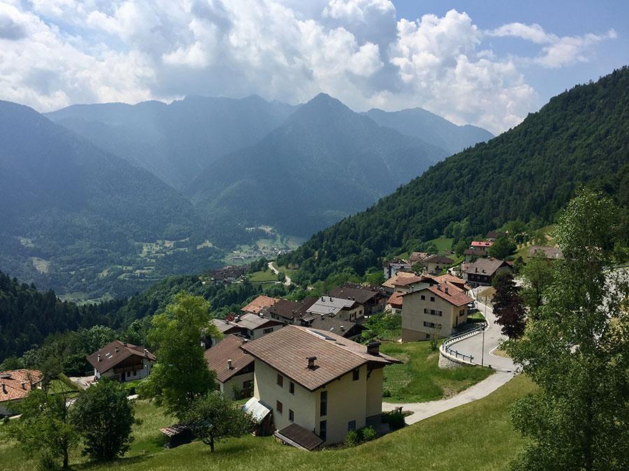 Tre Ville in den Alpen.