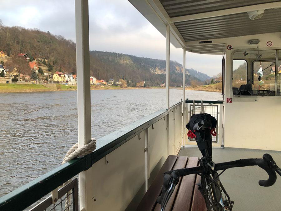 Fähre Bad Schandau - Fahrradmitnahme - Orbit 360 Sachsen