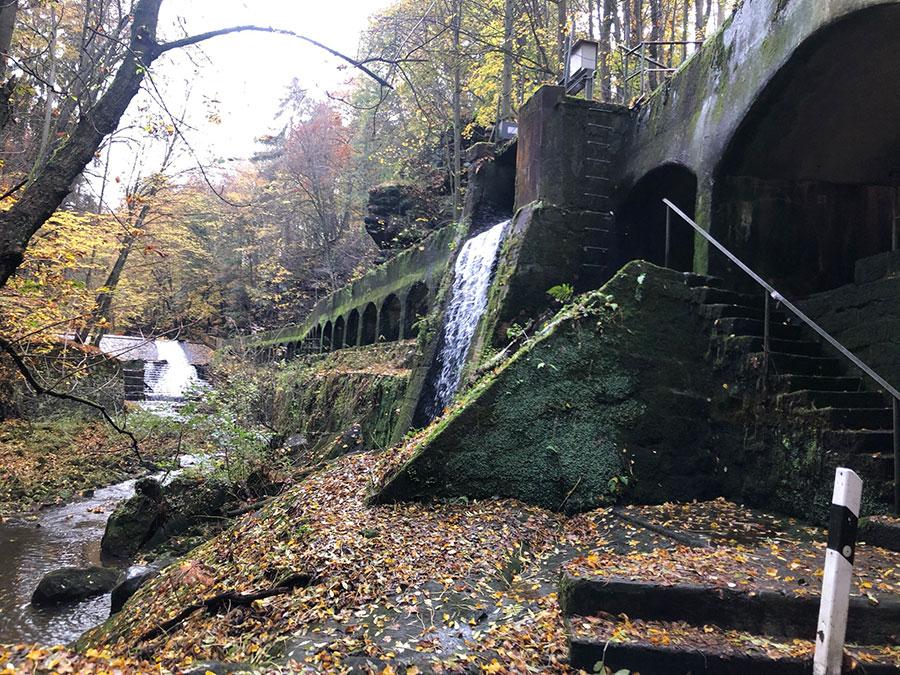 Bei Lohmen - Orbit 360 Sachsen - Graveltour mit Wasserfällen