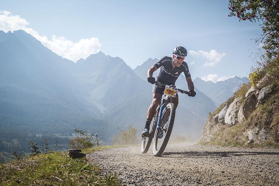 Alban Lakata Mountainbike-Profi