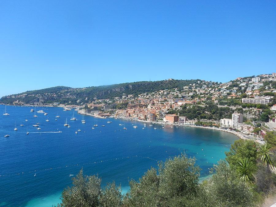 Der Blick auf Monaco von oben