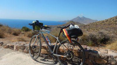 Mirado mit Blick nach San Jose in Andalusien