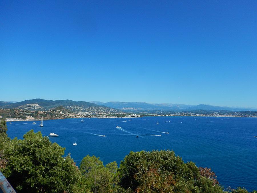 Monaco im Rücken und nicht mehr weit bis nach Nizza.
