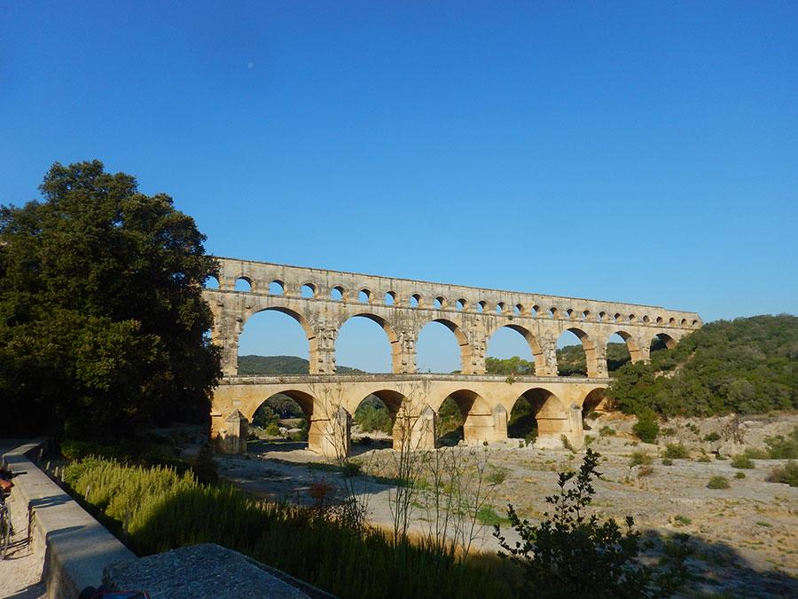 Remoulins - Pont du Gard - Fahrradtour