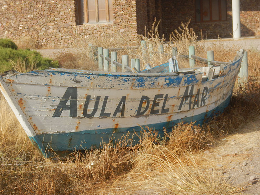 Zwischen San Jose und Almeria - Schiff