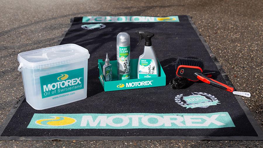 Motorex Bike Cleaning Kit mit Bürsten von Zefal - fürs grobe Fahrradputzen