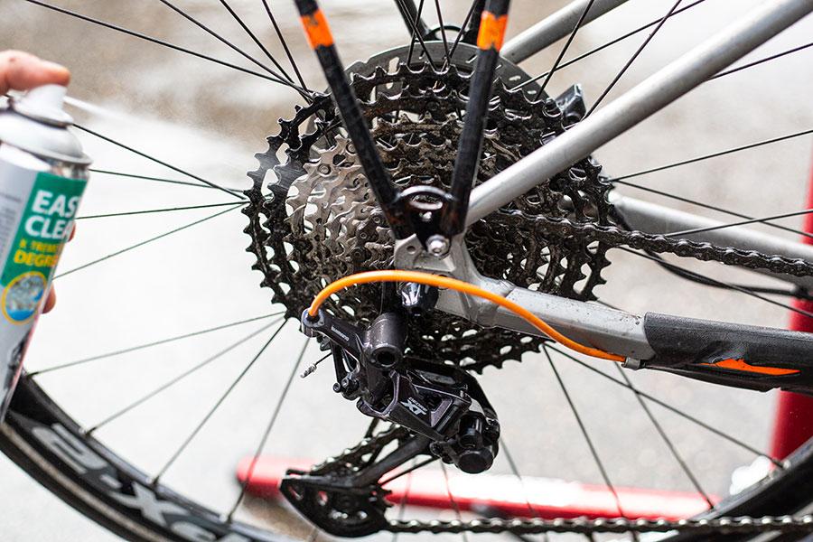 Motorex Degreaser - für anspruchsvolle Verschmutzungen am Fahrrad.