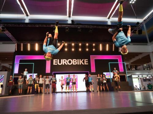 Die Modenschau auf der Eurobike 2017
