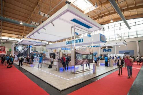 Der SHIMANO Stand auf der Eurobike 2017